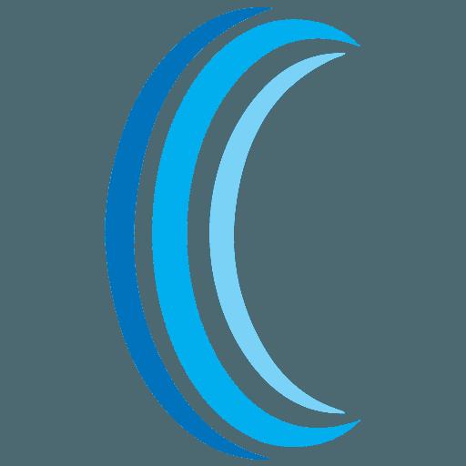 Hearing Center Logo Icon large blue